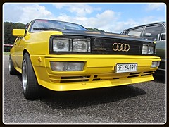 Audi Quattro (v8dub) Tags: audi quattro schweiz suisse switzerland german pkw voiture car wagen worldcars auto automobile automotive youngtimer old oldtimer oldcar klassik classic collector