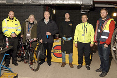 Be Bright, Be Seen (NHSGGC) Tags: nhsggc nhs greaterglasgow clyde bright seen be winter visibility high cycling dark night cyclists