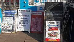 What the papers say (Dun.can) Tags: nw3 london newspapers privateeye hamhigh newsstand tube station underground belsizepark haverstockhill