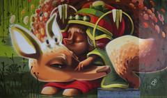 Mural in Hasselt (B) (Rick & Bart) Tags: hasselt belgium limburg city urban rickvink rickbart canon eos70d urb mural streetart graffiti animalito art