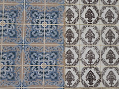 Tiles of the day (cyclingshepherd) Tags: 2016 november cyclingshepherd portugal algarve olhao olho azulejos azulejo tile tiles wall clash autoremovedfrom1to5faves