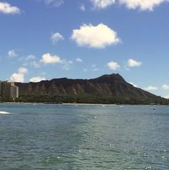 Diamond Head (tompa2) Tags: berg vulkan diamondhead hawaii hav vatten