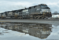 NS #9418 (Arkangel Productions) Tags: norfolk southern ns tier line 36t