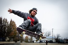 Moose hitting the park in Farmington, MO (canaan.farmer) Tags: stlouis photo photography nikond7000 nikon flip grind air rail sport moose dirty thrasher ramp park farmington missouri skateboarding board skateboard skate
