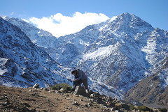 Mount Toubkal is the one in the middle! (NaomiQYTL) Tags: landscape snow atlasmountains trekatlas trekking toubkal morocco holiday travel