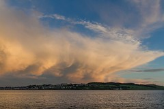 Sunset 12th June Broughty Ferry 3 (Ken Bushe) Tags: sunset sky cloud beach broughtyferry pebble