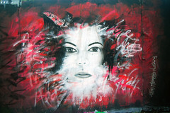 phat jam piece (This Means Nothing) Tags: dublin streetart abstract art face female paint urbanart aerosol