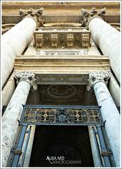 De oro (AlbaMD Photography) Tags: viaje roma puerta italia iglesia ciudad rico vaticano entrada papa visita dinero altura techo viajar oro columna piedra elvaticano