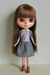 gardener girl dress