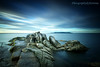 Big Rock (PhotographyByKristina (400,000 + views)) Tags: ocean blue ireland sea sky howth dublin seascape colour classic nature water lines rock stone clouds landscape evening coast pier seaside moss still movement scenery long mood moody colours bullock emotion harbour stones horizon creative scenic scene line national getty dreamy colourful relaxed dalkey gcc gettyimages nationalgeographic digitalcameraclub beautifulexpression dreaminess theperfectphotographer saariysqualitypictures gettyimagesireland greystonescameraclub rememberthatmomentlevel1 photographybykristina gettyireland