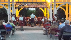 48th highlanders (Unionville BIA) Tags: street music irish ontario canada live main markham bagpipers unionville 48th highlanders