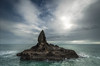Unnatural Calm (Nick Twyford) Tags: sea newzealand seascape rock clouds nikon wideangle auckland nz northisland westcoast bethellsbeach tehenga diffusedlight colourimage leefilters 1024mm d7000 raeakiakipoint lee09nd lee12gndsoft