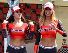 Emerge Energy Babes Sophie Crawford & Mia Jay (Tanvir's Pics 2010) Tags: santa street girls car promo pod energy jay ultimate sophie babes mia usc crawford emerge wellingborough raceway 2013