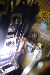 Cinemateca #13 - Proyector Kalee Model 12 (Nando.uy) Tags: england cinema france film 35mm uruguay projector creative gimp commons cine montevideo 16mm 1939 proyector kalee hugin cinemateca hortson nandouy
