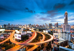 Artery of Bangkok (: : T O N I : :) Tags: city thailand cityscape bangkok thai getty gettyimages