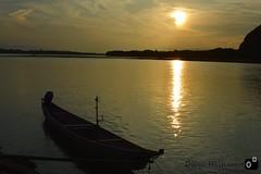 sunset boat , barco ao por do sol (diegohashimoto) Tags: sunset boat nikon barco 00
