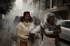 11 de Septiembre / Sahumerio a La Moneda