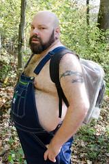 Bear Hike-t-3797 (Mike WMB) Tags: bear beard bald hike