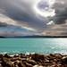 Northwest sky over Lake Pukaki NZ