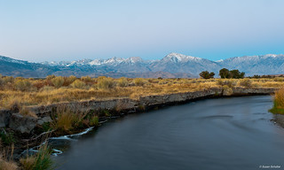 Early morning at the Owens River
