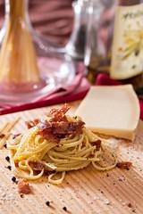 Carbonara (kipaguirre) Tags: food pasta carbonara