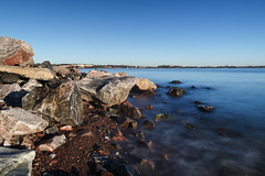 Hernesaari (Roni Rekomaa) Tags: blue autumn sea sky canon suomi finland helsinki baltic mark3 hernesaari 2013