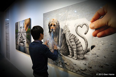 Ben Heine Solo Exhibition at Hyehwa Art Center in Seoul, South Korea (Ben Heine) Tags: show people news art film public shop museum photography marketing frames asia a