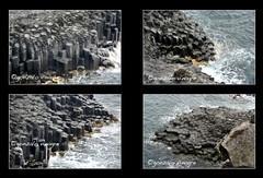 Jusangjeolli -3-, Jeju Island (composicin) (gonzalo.vinagre) Tags: en del de island se lava la mar o son el sur monte jeju isla roca forma cuando diferentes hallasan cubos conos tamaos island pilares south jungmun isla corea form polgonos korea jusangjeolli roca formas gonzalovinagre jeju estall jeju pilares cubicas poligonales fotosgonzalovinagre fotografiasgonzalovinagre