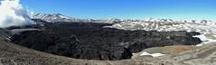 Panorama Volcán El Caulle (El Nuevo) (Mono Andes) Tags: chile panorama volcano lava andes volcán volcanoe erupción chilecentral parquenacionalpuyehue regióndelosríos volcánpuyehue elcaulle