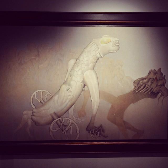 """Moitie Homme, Moitie Ombre"" 1978 • ""El Pasado Presente"" de Gerardo Chávez #art #arte #arteenlima #artinlima #artista #artist"