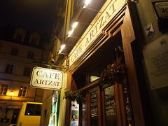 Café Artzat, Wrocław, Poland (ChihPing) Tags: travel coffee café cake cafe poland olympus wroclaw omd wrocław 自助旅行 em5 波蘭 wroctaw artzat 弗羅茨瓦夫