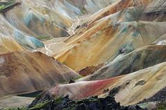 Day 7: Colors of Landmannalaugar (Gregor  Samsa) Tags: summer mountain mountains color colors trekking trek walking island iceland laugavegur color
