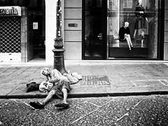 unititled (michele liberti) Tags: poverty blackandwhite italy women streetphotography documentary social napoli heels lifeinthecity monocrome streetbw homelees crisisnaples
