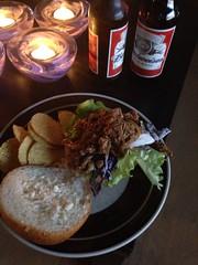 Krögar'n tipsar 4/1 (Atomeyes) Tags: chips mat cocacola tortilla coleslaw öl bröd pulledpork