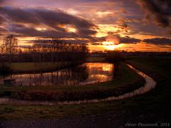 Fischerteich Ziegenhain (HDR) (Oliver Deisenroth) Tags: sunset lake nature natur teich hdr tonemapping olympusstylus1