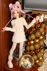 Happy time (Pomidorika) Tags: bear pink holiday cute happy doll lia dreaming angie kawaii p dreamingdoll