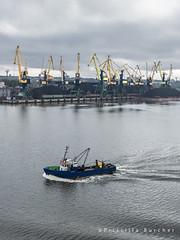 Riga Coal Terminal -EXPLORED- (PriscillaBurcher) Tags: port harbor dock crane baltic latvia transportation coal trade riga export daugava rigalatvia oceantransport portofriga rigacoalterminal l1070041