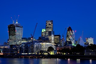 Twilight Over the City of London (Explored!)