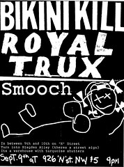 Bikini Kill / Royal Trux / Smootch, 9/9/199?