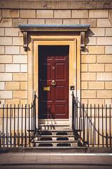 Oxford's Doors & Gates (Stanislav Halcin) Tags: door uk england architecture gate unitedkingdom townhouse ornaments oxford entry brickhouse woodendoor woodengate entrane