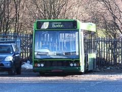 High Peak 688 Dove Holes RIP (Guy Arab UF) Tags: bus buses high dove derbyshire peak holes trent barton 688 excel 231 optare transpeak centrebus wellglade l1180 x231wra