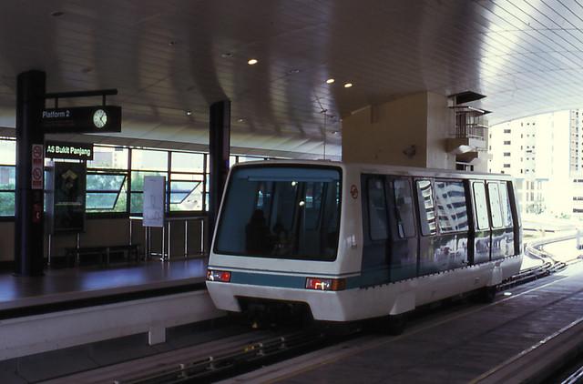 Singapore - Bukit Panjang - At the station