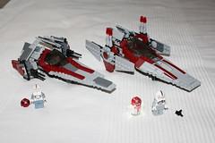 75039 026 (Mangetsu16) Tags: trooper set star starwars ship republic lego spaceship wars clone legostarwars droid astromech vaisseau vwing