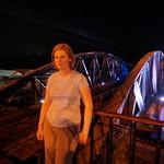 Annemarie on the Bridge Over River Kwai thumbnail