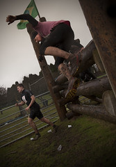 Tough Guy 2014 - Leap (Dune_UK) Tags: travel storm trooper men guy eye art fall water look electric swim liverpool canon fence joseph fire climb blog pain wire women bath different photographer cattle mud image sale walk sold logs run dirty telford event photograph frame wife latex shock 5d balance ropes nutty seen tough crawl staffordshire barbed obstacle tyres mkii wolverhampton glynne pritchard scouser obstacles 2014 nancherrow perton