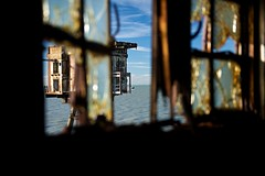 """Glimpses (edwardhorsford) Tags: world trip red sea guy abandoned metal thames sand rust war industrial fort aircraft military air navy ruin visit estuary sealand ww2 second raid sands defence mersey forts charter maunsell antiaircraft u6 """"guy redsands maunsell"""""""