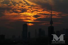 Cloudy Sunset. (mohammed alhashash) Tags: city sunset cloud canon kuwait q8 60d mhmdalhashash