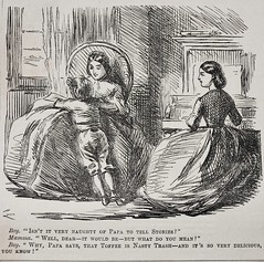 Sweet Truth! - Punch 1863 (AndyBrii) Tags: london magazine satire humour punch wit 1863