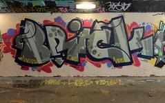 Graffiti Overschie (oerendhard1) Tags: graffiti streetart urban art underpass tunneltje overschie rotterdam mersie ob obs brick oerendhard