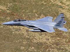 F-15C 84-0027 LN CLOFTING IMG_4900+ (Chris Lofting) Tags: eagle usaf usairforce ln lowlevel fighterplane lakenheath bwlch machloop 48fw f15c 840027 493fs lakenheathairbase
